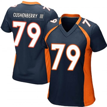 Women's Lloyd Cushenberry III Denver Broncos Game Navy Blue Alternate Jersey