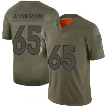 Youth Gary Zimmerman Denver Broncos Limited Camo 2019 Salute to Service Jersey