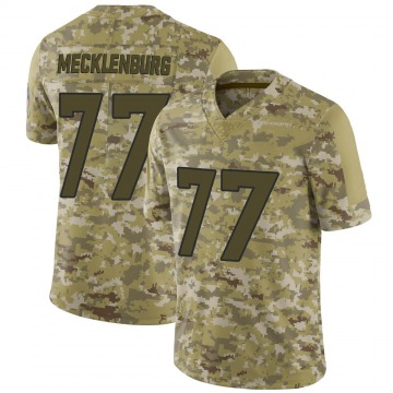 Youth Karl Mecklenburg Denver Broncos Limited Camo 2018 Salute to Service Jersey