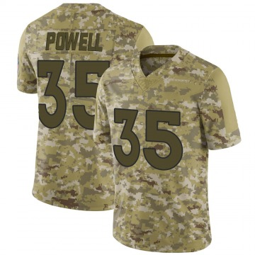Youth Tyvis Powell Denver Broncos Limited Camo 2018 Salute to Service Jersey